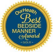 Best bedside manner award badge