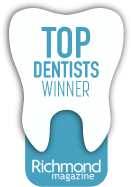 Top dentists winner award badge